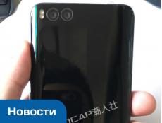 Фото Изображения смартфона Xiaomi Mi 6 демонстрируют наличие двойной камеры и порта USB Type-C, а также отсутствие разъема для наушников