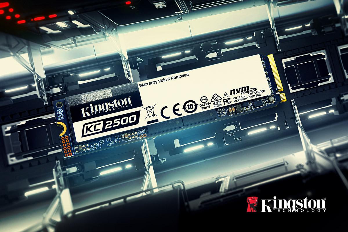 Kingston Digital представила KC2500 — NVMe PCIe SSD нового ...